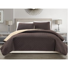 Reversible Bedspread Coffee