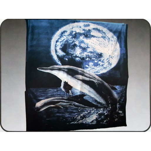1 Ply Blanket - Dolphins