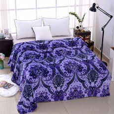 Super Soft Microfiber Blanket - Decorative Pattern