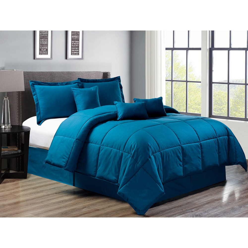 7 Piece Down Alternative Comforter