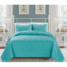 Cozy Bedspread Turquoise