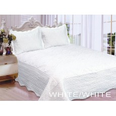 Polysilk Quilt White