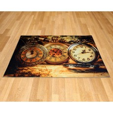 Printed Carpet - Clocks