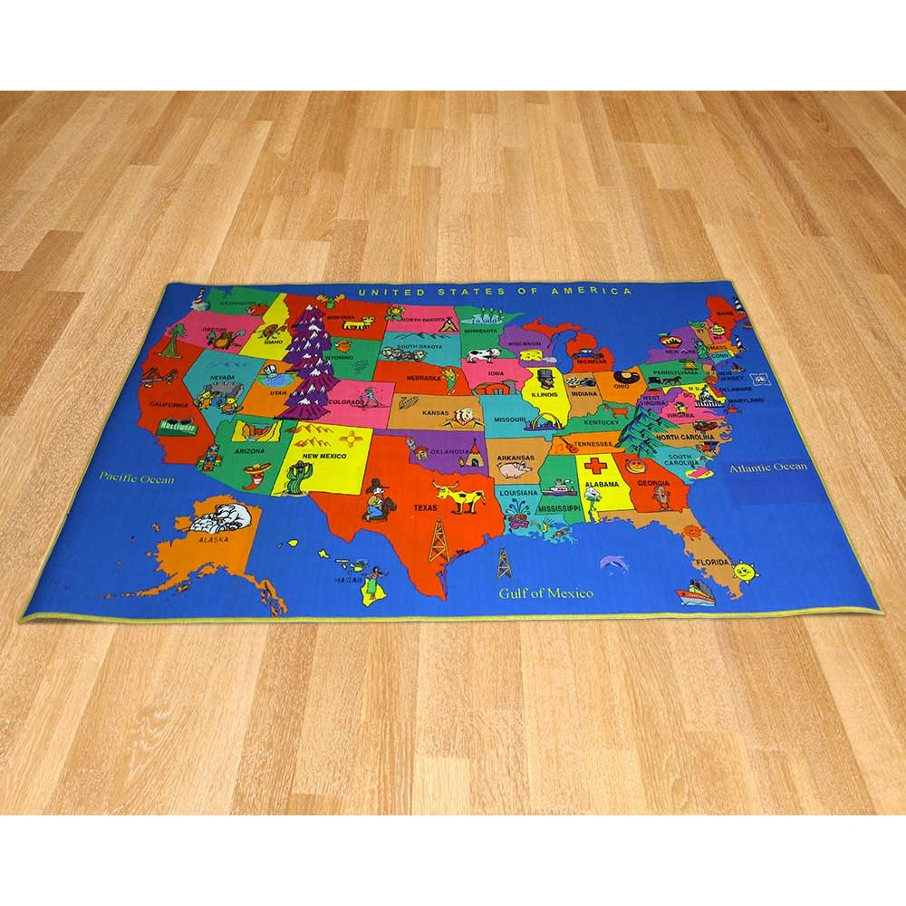 Printed Carpet - United States Map on tile map, food map, wallpaper map, metal map, klondike map, alaska map, canvas map, labyrinth map, clock map, pyramid map, home map, water map, glass map, construction map, floor map, frame map, penguin map, bed map, strategy map, concrete map,