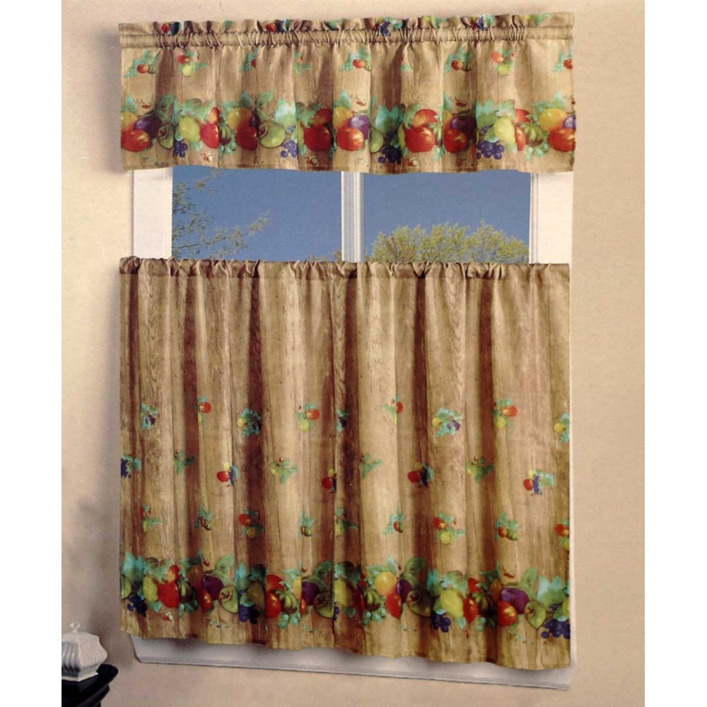 Mixed Fruits Kitchen Curtain